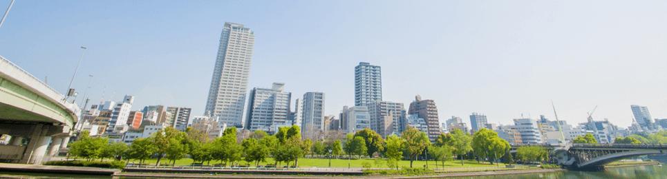 マンション価格の国際比較 大阪イメージ
