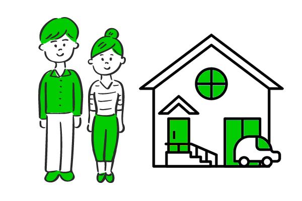 不動産の賃貸借をするときイメージ