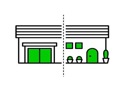 不動産の分割イメージ