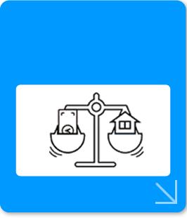 個人向けのお客さまサービスをお悩みから探す 離婚による財産分与対策イメージ