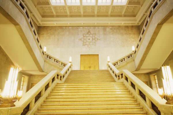 東京国立博物館の大階段イメージ