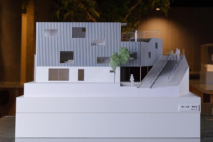 鉄の家 Steel House(隈研吾)イメージ